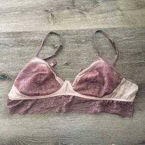 Lace Bralette XL